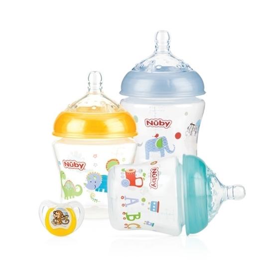 Infant Bottle – 3 pack + Bonus Pacifier (3 adet+Emzik)