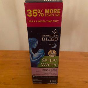 Mommy's Bliss Gripe Water  Night/Gece  (162 ml)