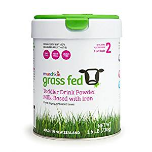 Munchkin Grass Fed Toddler Milk Drink, 1-3 years 900 gr.