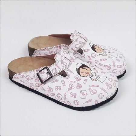 ShoeRokee Nurse Clogs Pink Size 7-8-10