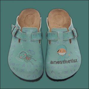 ShoeRokee Anesthetist Themed Women Clogs  Size 8-9
