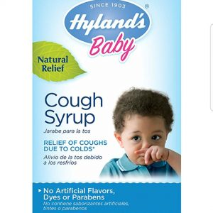 Hyland's Baby Cough Syrup, Natural Relief of Coughs Due to Colds, 4 Ounces