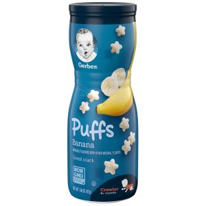 Gerber Puffs Banana, 1.48 oz (42 gr)