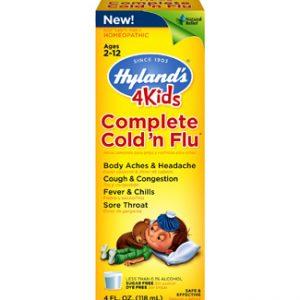 4Kids, Complete Cold 'n Flu, 4 fl oz (118 ml)