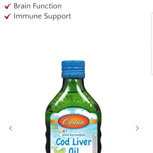 Kid's Cod Liver Oil, Bubble Gum 250 ml