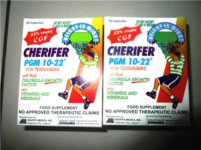 2 Boxes 60 Capsules CHERIFER for Teenagers PGM 10-22 (2 kutu