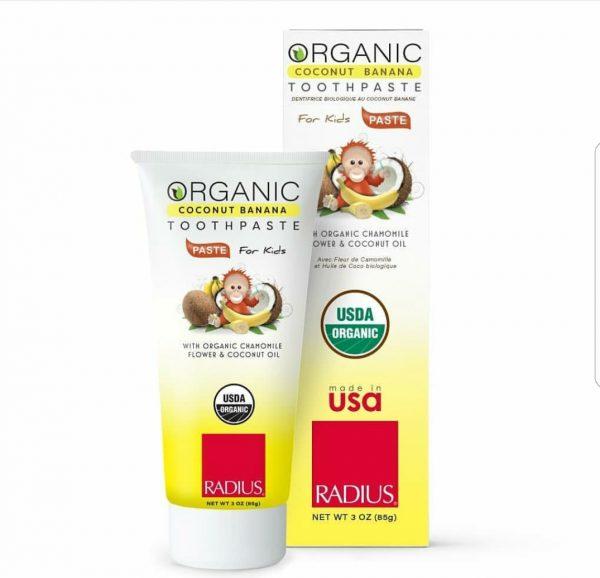Radius Organic Toothpaste (diş macunu) 85 gr.