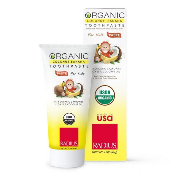 Radius Coconut Banana USDA Organic Children's Toothpaste