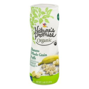 Nature's Promise Organic Whole Grain Puffs Banana