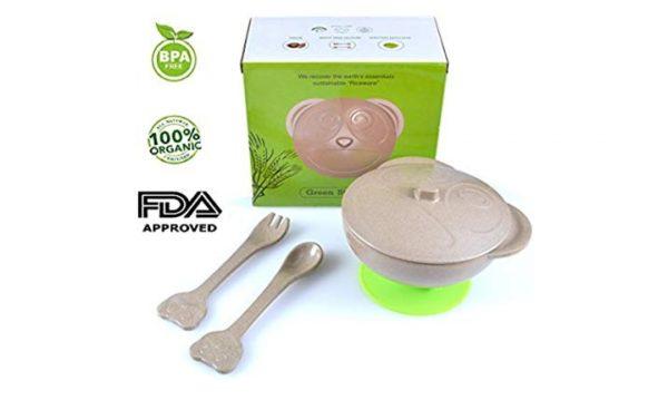 Organik Pirinçten Vakumlu Kase FDA onaylı