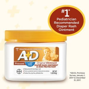 A+D Original Diaper Rash Ointment, Skin Protectant, 454 gr.