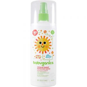 Babyganics Baby Sunscreen Spray, SPF 50, 6 oz Spray Bottle (177 ml)