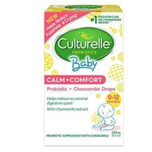 Culturelle Baby Calm + Comfort Probiotics + Chamomile Drops | Helps Reduce Occasional Infant Digestive Upset, 0.29 fl. oz. Drops