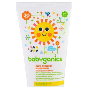 Babyganics Pure Mineral Sunscreen SPF 30, 2 oz (59 ml)