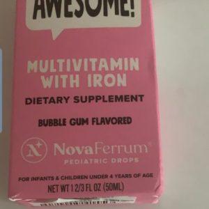 NovaMV Multivitamin Pediatric with Iron Drops (50 ml)