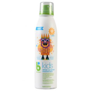 Babyganics Kids Sunscreen Spray, SPF 50, 6 Oz (170 gr)