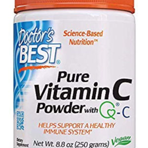 Doctor's Best Vitamin C with Quali-C, Non-GMO, Gluten Free, Vegan, Soy Free, Sourced from Scotland, 250g
