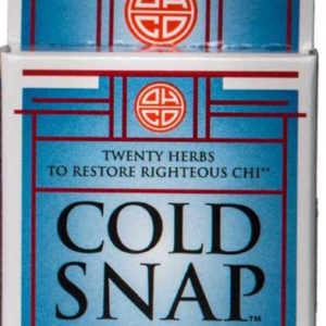 Cold Snap Trial Size (16 capsules)Ease Cold and Flu Symptons – Herbal Medicine – High-Quality Remedies