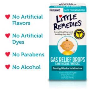 Little Remedies Gas Relief Drops | Berry Flavor | Safe For Newborns | 1 FL OZ(30 ml)