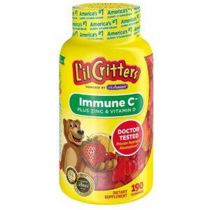 L'il Critters Immune C Plus Zinc & Vitamin D, 190Count