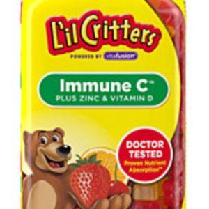 L'il Critters Immune C Plus Zinc & Vitamin D, 290 Gummy