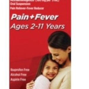 Children's Tylenol Pain + Fever Relief Medicine, 4 fl. OZ (120 ml)