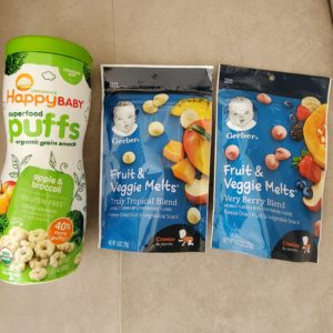 Gerber Furit&Veggie Melts Happybaby Puffs