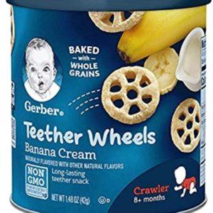 Gerber Graduates Waffle Wheels – Banana Cream